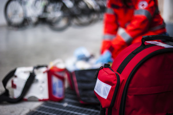 intervento ambulanza per incidente
