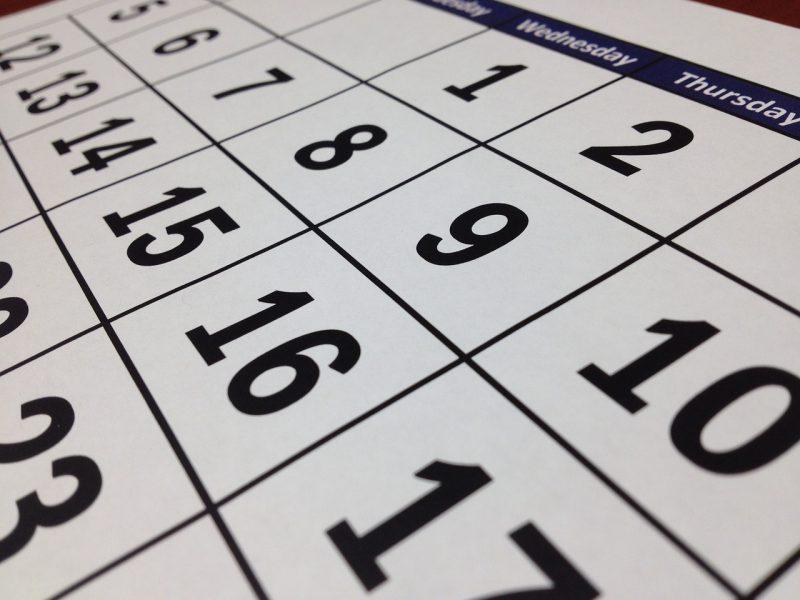 Kalendarz Kursów